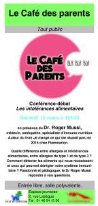 Flyer Café des parents